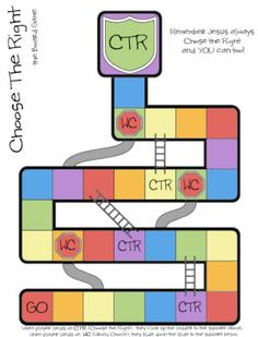 Choose the Right Board Game (printable)