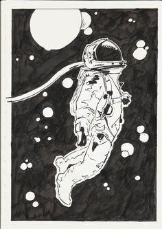 Astronaut by berksenturk.deviantart.com