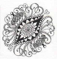 swirly brooch