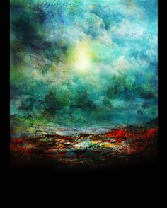 """""""The Plains"""". """"As the rain comes down on the desolate plains a sorrow engulfs me and my eyes fill up"""". Based on an old old song by #barışmanço. Prints available on www.mackill.com. #art #painting #mixedmedia #replikas"""