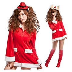 Christmas Sleeved Dress Sexy Party Performance Clothing Santa Claus Cosplay. #Santa #MrsSantaClaus #Mask #Costume #Women #Girl #Lady #Party #gosstudio #Gift .★ We recommend Gift Shop: http://www.zazzle.com/vintagestylestudio ★