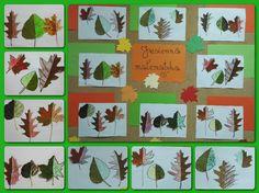 Matematyka jest wszędzie, nawet w jesiennych liściach. Przekonali się o tym uczniowie mojej drugiej klasy. Podczas zabawy z jesiennymi liść...