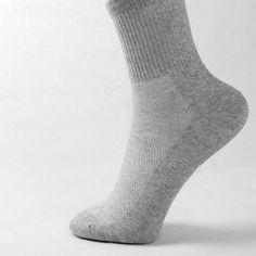 PLOFR14 New Fashion Men Cozy Health Cotton Sock 2017 Short Dress Mesh Socks