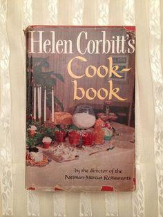Helen Corbitt's Cookbook Vintage Recipes Neiman Marcus Restaurants HCDJ