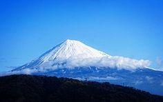 Fuji, Inverno, Neve, Vulcão, Japão