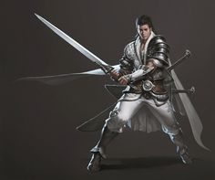 ArtStation - The Oriental Knight, Junggeun Yoon Fantasy Character Design, Character Concept, Character Art, Concept Art, Character Ideas, Fantasy Armor, Medieval Fantasy, Fantasy Weapons, Fantasy Inspiration