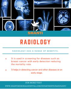 Radiology..  Don't be depressed, Know the details here.