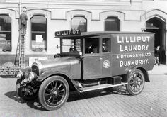 transportation from the past | Lilliput Laundry & Dyeworks Ltd delivery van, Dunmurry. Click image to ...