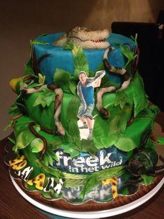 Freek in het wild cake / taart