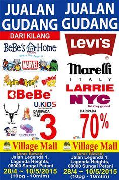 28 Apr-10 May 2015: Branded Kids Fashion & Footwear Clearance Warehouse Sale