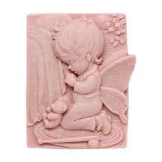 Molde para hacer pastillas de jabón clásico relieve de Angelito.