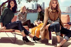 Liu Jo Jeans 2015 2016: i Look glam rock dell'Autunno Inverno Liu Jo jeans 2015 2016 outfit