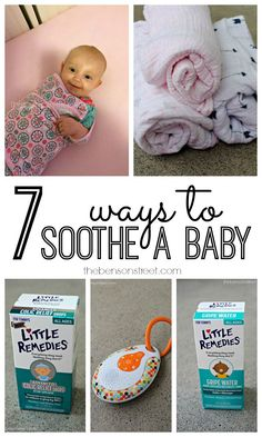 7 Ways to Soothe a B
