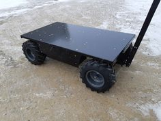 This enhanced version of the 38020 has two electric motors putting out and two AGM gel batteries Electric Utility, Electric Motor, Roller Chain, Welding And Fabrication, Chain Drive, Welding Projects, Pugs, Pallet, Cub Cadet