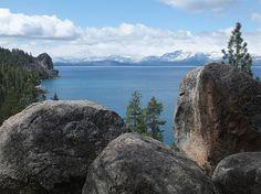 Zephyr Cove, on the east side of Lake Tahoe / http://www.sleeptahoe.com/zephyr-cove-on-the-east-side-of-lake-tahoe/