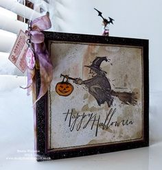 That's Life: You're Invited ~ Halloween Party Invitation Tutorial for the Tim Holtz Media Team