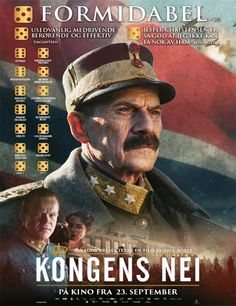 Ver Kongens Nei (The King's Choice) online Oslo, Colette, Cool Pictures, Drama, King, Baseball Cards, Education, Movies, Poster