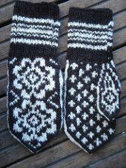 Ravelry: 11. Barnevott / Child's mitten pattern by Rauma Designs