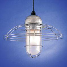 Hi-Lite H-WGUGR-10 Wireguard Warehouse Shade RLM Pendant - Lighting Universe $112