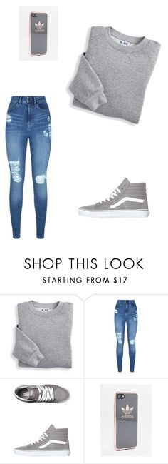 """Untitled #578"" by meganbramey ❤ liked on Polyvore featuring Blair, Lipsy, Vans and adidas"