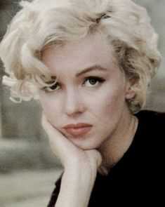 "Marilyn Monroe, photographed by Milton Greene in so-called ""Peasant/Dutch girl"" sitting. Marylin Monroe, Marilyn Monroe Quotes, Classic Hollywood, Old Hollywood, Hollywood Glamour, Art Visage, Milton Greene, Cinema Tv, Norma Jeane"
