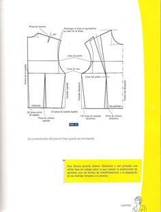 217092033-Diseno-de-moda-Patronaje-Las-bases-Caratula-a-Pg-25.pdf Vegetable Storage Rack, Couture Sewing Techniques, Vito, Modelista, Blouse And Skirt, Pattern Drafting, Pattern Books, Pattern Making, Baby Dolls