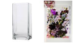 Get the Jil Sander runway flowers look with £3 ikea vases