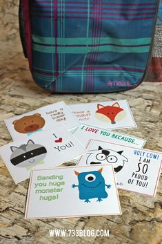 Let Your Kiddos Know You Love Them With These Free Printable Lunch Notes!