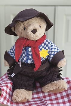 Knitting Patterns For Teddy Bear Outfits : Knitting Patterns on Pinterest Knitting Patterns ...