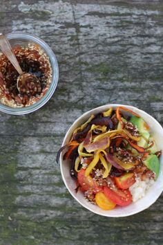 Easy Lunchbowl mit Tamari - Carrots for Claire