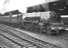 46245 'City of London': LMS Stanier Coronation Class. Built June 1943, withdrawn  October 1964.