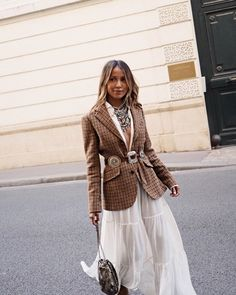 20 Ideas For Fashion Street Chic Sincerely Jules Fashion Blogger Style, Look Fashion, Trendy Fashion, Autumn Fashion, Fashion Outfits, Dress Fashion, Street Style Chic, Street Style 2018, Autumn Street Style