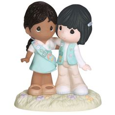 "Precious Moments ""Girl Scouting Brings Friends Together"" African American Asian Figurine 102015 - http://www.preciousmomentsfigurines.org/precious-moments/precious-moments-girl-scouting-brings-friends-together-african-american-asian-figurine-102015-2/"