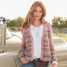 MOLLY FAIR ISLE CARDIGAN: View 1