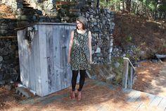 fall wardrobe part five | edenham dress | grainline