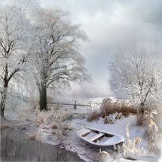 Зимско јутро  Јутро је.. Оштар мраз спалио зелено лисје, А танак и бео снег покрио поља и равни, И сниски, тршчани кров. У даљи губе се брези И круже видокруг т...