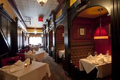 The interior of Hurley's- a classic Irish restaurant and bar in New York's theatre district #photography #photos #pictures #nycrestaurants #hurleys #privatebooths #Irish #bar #nyc #food #eat #theatre #newyork