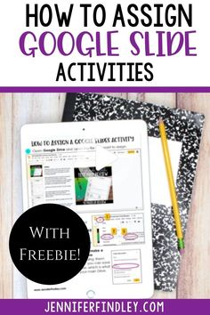 Learn how to assign Google Slides activities, assignments, and lessons through Google Classroom with this free downloadable guide! #education #educational Teaching Technology, Teaching Tools, Teaching Resources, Technology Integration, Medical Technology, Energy Technology, Teaching Art, Teaching Ideas, People Reading