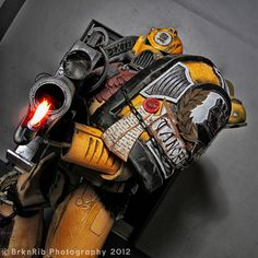An Impossibly Awesome Warhammer 40K Costume