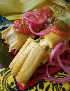 Tamales - Comida Mexicana