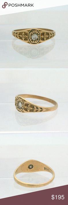 Horseshoe Ring • Rose Gold Ring • Pinky Ring • Horseshoe Jewelry