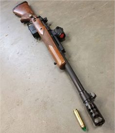 rugersofficial Scout rifle chambered in 450 bushmaster. Weapons Guns, Guns And Ammo, Shotguns, Firearms, Scout Rifle, Fire Powers, Hunting Rifles, Cool Guns, Assault Rifle