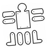 Keith Haring, School Art Projects, Art School, Keith Allen, Drawing Poses, Art Plastique, Art For Kids, Worksheets, Scissor Skills