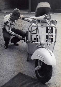 Classic Stripes & Vespa