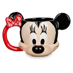 Minnie Mouse Sculptured Mug - Disney Cruise Line | Disney Store