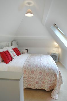 This restored worker's cottage dating from the mid-19th century has 590 sq ft on the main floor and a bedroom in the attic. | www.facebook.com/SmallHouseBliss
