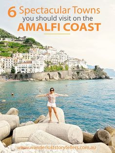 An Amalfi Coast Road Trip is the best way to see and experience 6 spectacular Italian coast towns - Positano, Praiano, Ravello, Atrani, Amalfi Town and Borgo di Furore.