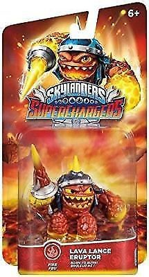 Skylanders Superchargers LAVA Lance Eruptor Action Figure and Burn-Cycle Vehicle #Activision