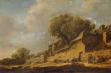 Paisaje con Casa de Aldeanos Jan Van Goyen  1631