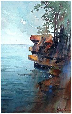 Thomas W. Schaller「eagle rock」